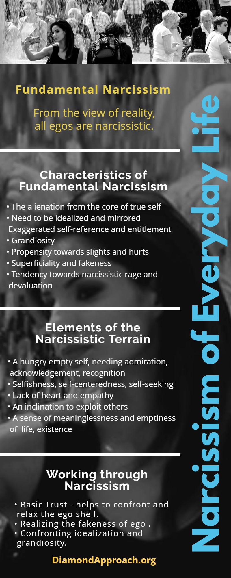narcissism infographic